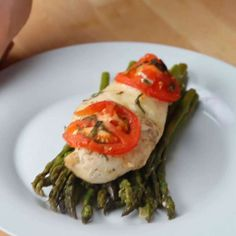 One-Pan Caprese Chicken by Tasty