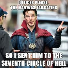 Dante quote in a Dr. Strange quote in a Dante quote?! This is beautiful....