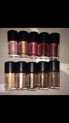 MAC glitter pigments