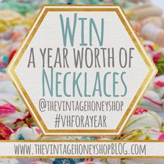 Win a year of teething necklaces