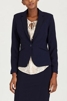Corporate   Contempo Fashion Co-ordinator   Power Suit Navy Career, Blazer, Suits, Navy, Jackets, Shopping, Fashion, Down Jackets, Moda