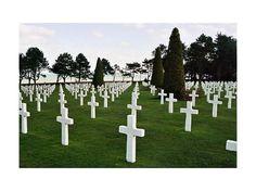 American Cemetery Colleville/Saint-Laurent-sur-Mer  .... So many men lost.
