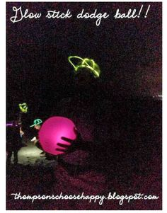 Play dodge ball on the beach at night with glow in the dark beach balls and glow stick hats. Glow Stick Games, Glow Stick Crafts, Glow Stick Party, Glow Sticks, Beach At Night, Beach Fun, Dark Beach, Blacklight Party, Party Supply Store