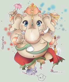 Lord Ganesh Chibi by ChairimArrais