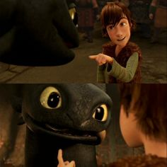 Hiccup: bad dragon very bad dragon you .....-Dragons- Gift of the Night Fury ... hiccup and toothless