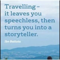 traveling...<3