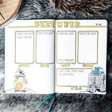star wars bullet journal