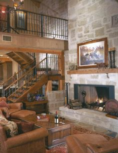 : Timber Frame Homes » Texas Timber Frame Home » Texas Timber Great Room