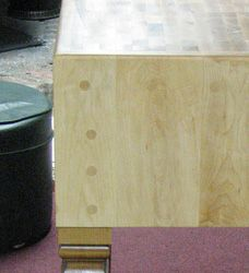 How to Build a Butcher Block Table Butcher Table, Butcher Block Tables, Block Plan, Maple Butcher Block, Restoration, Van, Canning, Building, Buildings