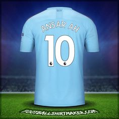 Make personalized Manchester City jersey. Customize jersey Manchester City with your name and number. Create jersey with the font Manchester City Cristiano Ronaldo Goals, Number 10, Nike Soccer, Manchester City, Under Armour