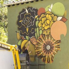 SUPAKITCH & KORALIE in Montpellier, France, 2016, work in progress