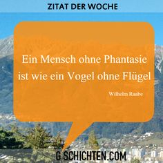 Zitat der Woche ;) Quote Of The Week, Quotes