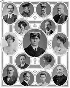 On Board the Titanic: Notable Passengers