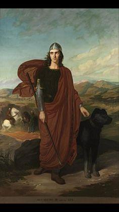 Recadero II. Rey de los Visigodos  (¿?-621) Breve reinado tras perder el Reino en la rebelión de Suintila.