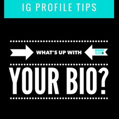 IG Profile Tip Perfect your bio. Once you get people's attention they get curious. Your bio is what will make them stay or go. Your bio should have these qualities Who you are: it should easily say who you are they shouldn't have to guess. What you do: It should include your service or product Contact info: How can they reach you? DM email comments etc. Link: IG allows one link so make it count. Whether it's a website landing page or Paypal link. It should be utilized.  You can also add…