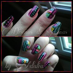 Uñas #tribal