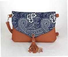 remix / kabelka Petra Bohemian Handbag Patterns, Petra, Indigo, Folk, Bangles, Bohemian, Crochet, Collection, Fashion