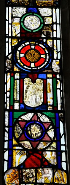 Rendcomb St Peter Nave north windows restored by Baillie 1854-5 -115  http://www.bwthornton.co.uk/a-midsummer-mouse.php