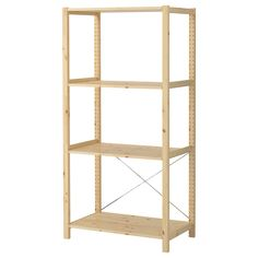 IVAR 1 section with shelves - IKEA