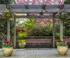 11 Gorgeous Garden Pergolas For Inspiration - Garden Lovers Club
