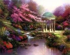 Thomas Kincaid---Dream place for a wedding
