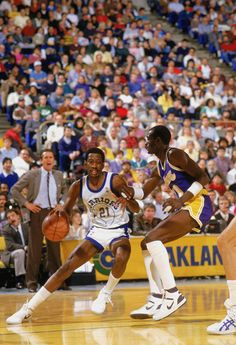 May 10, 1987 - Sleepy Floyd of Golden State set NBA Playoff records with 29 points in the fourth quarter and 39 points in the second half as the Warriors beat the Los Angeles Lakers 129-121 in Game 4 of the West Semifinals. Floyd finished the game with 51 points.
