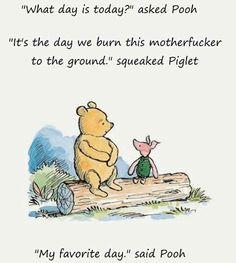 Pooh Winnie the pooh burn