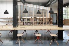 A Tour of Clarks Originals' Cool Somerset Office - Officelovin'