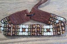 Bead woven braceletsbead loomed bracelets Native by Adornments925
