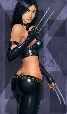 X-23 Wolverine's clone/ daughter