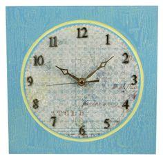 Great Clock making post! Uses Walnut Hollow's Square Modern Clock.