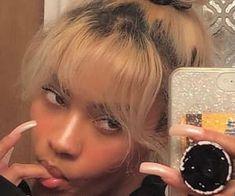 Black Girl Aesthetic, Aesthetic Hair, Aesthetic Makeup, Hair Inspo, Hair Inspiration, Mode Rihanna, Curly Hair Styles, Natural Hair Styles, Pretty Black