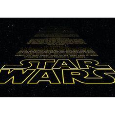 Komar Star Wars Intro 2.48m L x 368cm W Wallpaper | Wayfair.co.uk