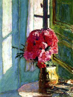Fleurs carnations - Pierre Bonnard 1921