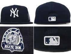 NEW ERA x MLB 「New York Yankees Derek Jeter 3000k Memorial Patch」59Fifty Fitted Baseball Cap