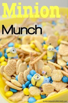 Minion Munch Snack Mix | Minions Movie | Digital HD Nov 24th | Blu-ray Dec 8th