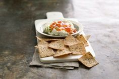 Goat Cheese and Apricot Topping #dip #recipes #crackers #cheese #snacks #snackbreak