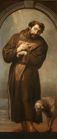 """Saint Francis of Assisi (1181–1226) is arguably the most famous animal lover of the medieval period in Europe. The Franciscan friar was said to preach to birds and animals and release captured animals from traps.  There are many legends about the saint, the most famous being that he once convinced a wolf to stop terrorizing a town and eating the livestock. Saint Francis was said to have """"the gift of sympathy"""" for animals and in modern Catholicism is the patron saint of animals and ecology."""
