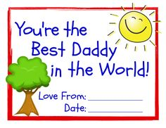 You're the Best Daddy in the World