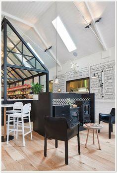 #Parquet en #Restaurantes y #Bares www.decorgreen.es  The Old Library- Sidney (Australia)
