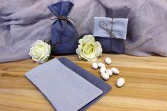 Πουγκί Υφασμάτινο BBB-458-5.11  Πουγκί με 2 όψεις απο ύφασμα ψάθα σιέλ και μπλε. Δημιουργήστε εύκολα και γρήγορα μια μπομπονιέρα όπως εσείς την έχετε σκεφτεί. Συνδυάστε με μια μεγάλη ποικιλία χρωμάτων και υλικών, κορδέλες, κορδόνια, δαντέλες και ξύλινα ή μεταλλικά διακοσμητικά στοιχεία (μοτίφ) και αφήστε τη φαντασία να σας οδηγήσει.Διαστάσεις: 11x19cm