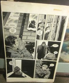 Original Comic Art CREEPY #75 SNOW PG 33 Wally Wood and Crew Warren Art