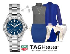 Tag Heuer diamonds aquaracer by colo-mira on Polyvore featuring Majestic, City Chic, WearAll, Kendall + Kylie, Rafe, Tara, Amanda Rose Collection and TAG Heuer