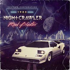 Nightcrawler Road Blaster EP by Medusateam , via Behance