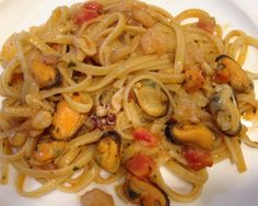 Linguine all'arrabbiata di mare
