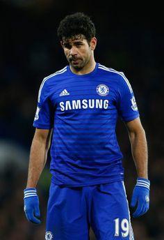 Diego Costa Photos: Chelsea v Liverpool