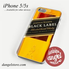 Black Label Phone Case for iPhone 4/4s/5/5c/5s/6/6s/6 plus