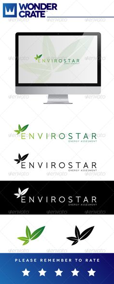 Envirocare — Vector EPS #conscious #cool • Available here → https://graphicriver.net/item/envirocare/3287957?ref=pxcr