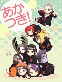 Akatsuki chibi | Naruto #manga #anime