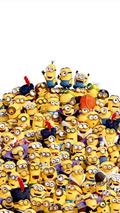 Movies Wallpaper for iPhone from moviemania.io Minions Phone Wallpaper We are minions Cartoon Wallpaper, Minion Wallpaper Iphone, Funny Quotes Wallpaper, Disney Phone Wallpaper, Funny Wallpapers, Minions Images, Cute Minions, Minion Movie, Pink Wallpaper Iphone